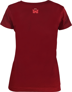 Castle Lager Womens Heritage Shirt Maroon